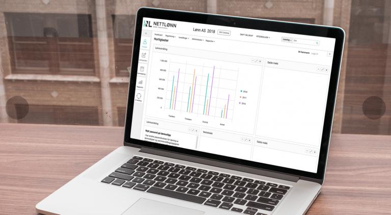 Overføre data fra Nettlønn